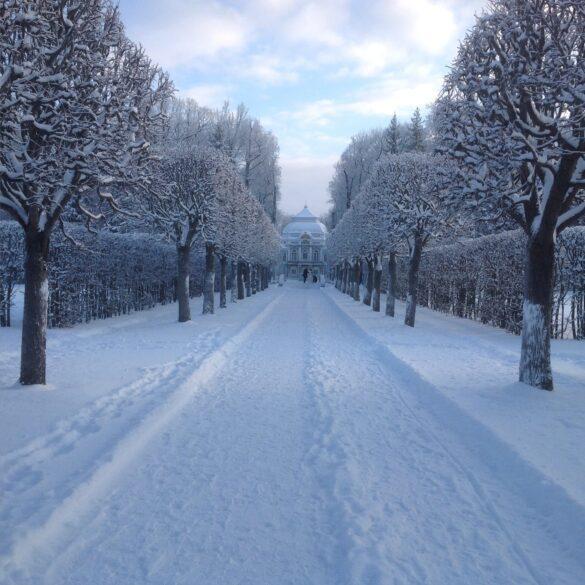 Эрмитаж зимой